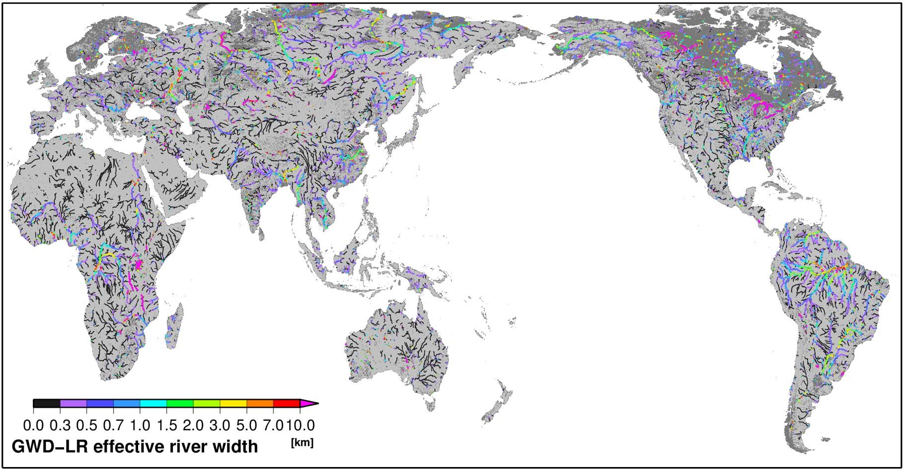global width database for large rivers gwd lr