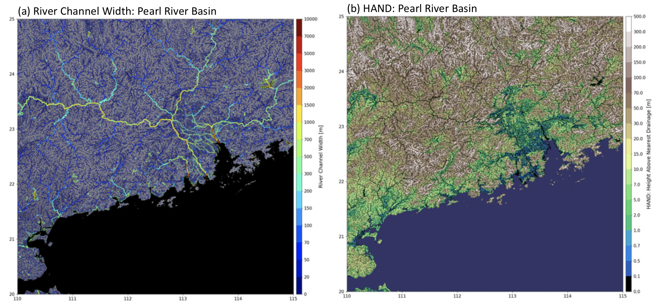 MERIT Hydro: global hydrography datasets